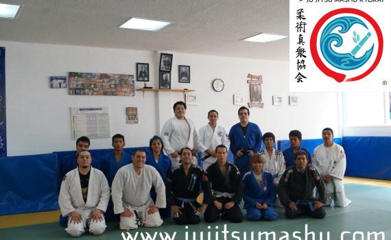Seminario de Ne waza y Nage waza de la AJTSUYAM 2013
